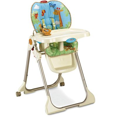 Fisher Price -  Scaun masa Rainforest Healthy Care