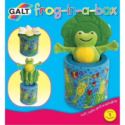 Galt - Cutiuta cu broscuta Frog in a Box
