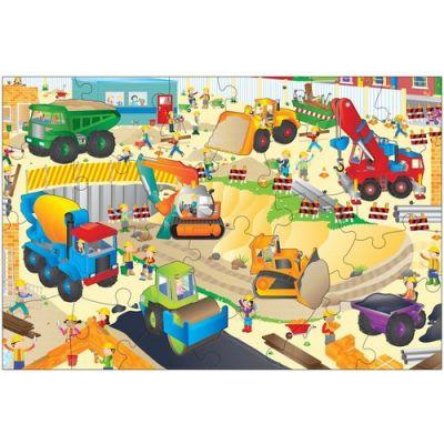 Galt - Puzzle gigant de podea santierul