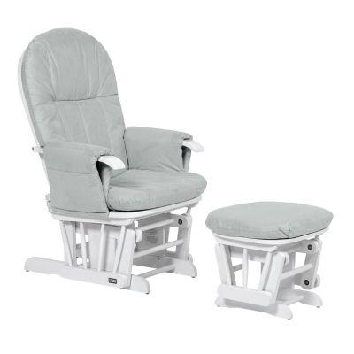 Tutti Bambini - Fotoliu alaptat cu suport picioare GC 35 White Grey