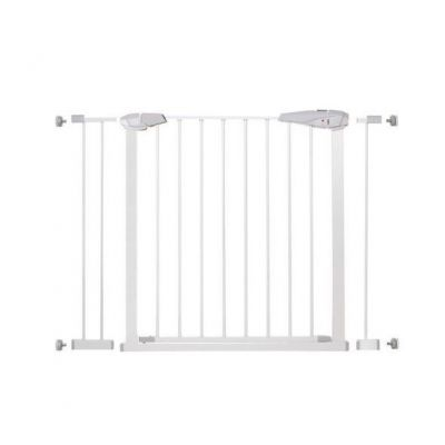 Springos - Poarta de siguranta prin presiune 76-106 cm pentru scari sau usi Geza