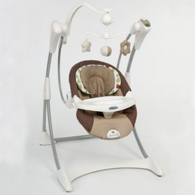 Graco - Balansoar Swing Silhouette Apple