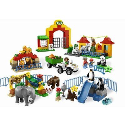 Lego - Duplo Gradina Zoologica 12 animale