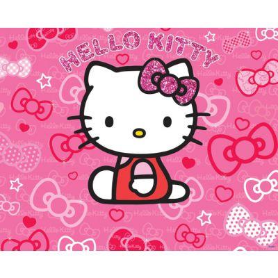 Walltastic - Tapet pentru copii Hello Kitty