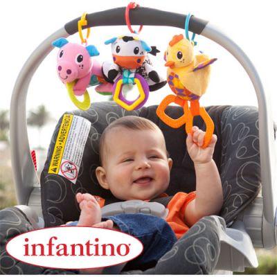 Infantino - Set 3 jucarioare Bebe Barn
