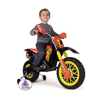Injusa - Motocicleta electrica MotoCross CR 6V