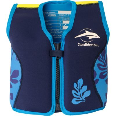 Konfidence - Vesta inot copii cu sistem de flotabilitate ajustabil The Original blue palm