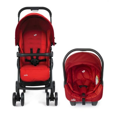 Joie -  Carucior 2 in 1 Juva Red