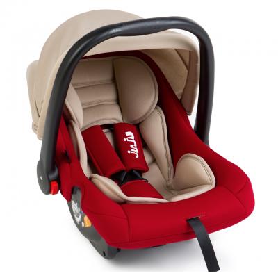 Juju - Scaun auto 0-13kg Baby Boo bej-rosu