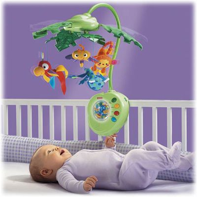 Fisher Price -  Carusel Rainforest Peek-A-Boo Leaves