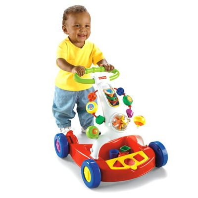 Fisher Price - Premergator Brilliant Basics Walker-to-Wagon