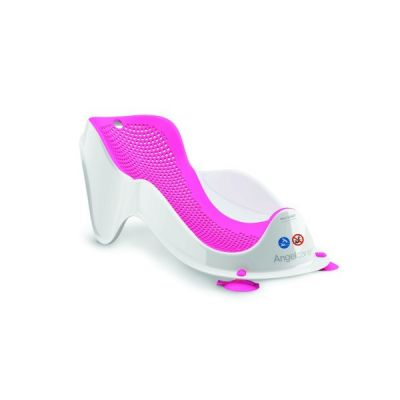 Angelcare Mini Suport ergonomic de baie Pink