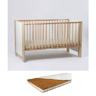 Bebe Design - Patut lemn Karina + Saltea