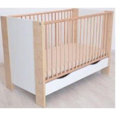Bebe Design - Patut lemn Karina cu sertar