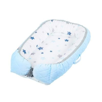 Albero Mio - Salteluta-cuib pentru bebelusi  blue
