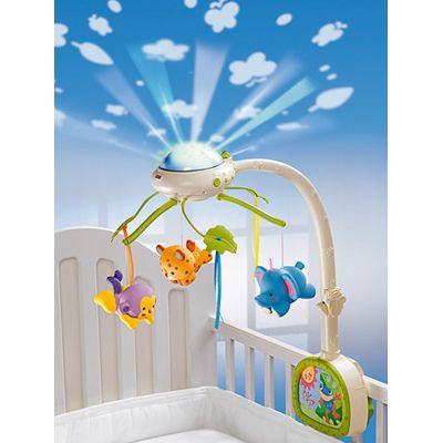 Fisher Price - Carusel cu proiector Rainforest