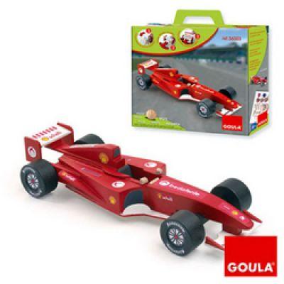 Goula - Macheta masina F1 rosie