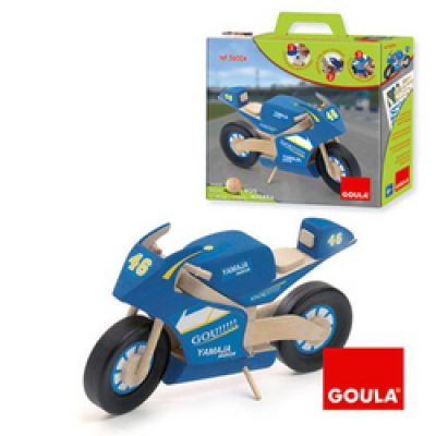 Goula - Macheta motocicleta albastra