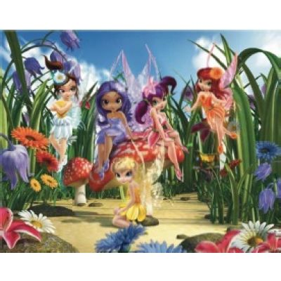 Walltastic - Tapet pentru copii Magical Fairies