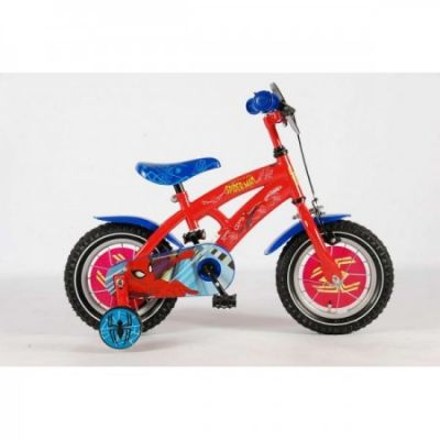 E&L Cycles - Bicicleta Spiderman 12""