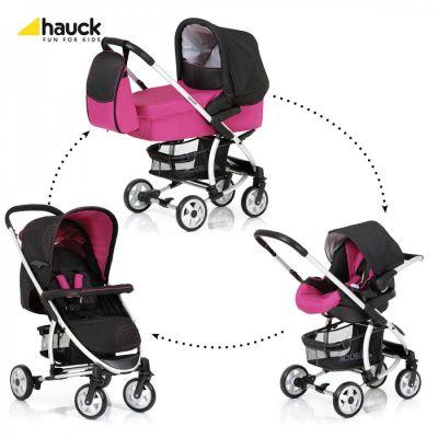 Hauck -  Carucior 3 in 1 Malibu M12 All in One