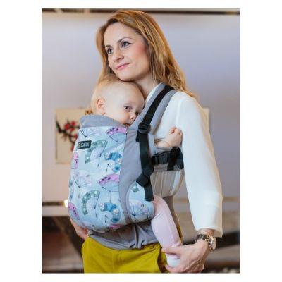 Marsupiu ergonomic bumbac organic Isara V3 Fanquisite Toddler