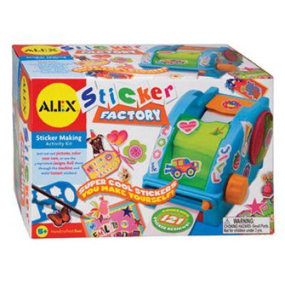 Alex Toys - Masina de facut abtibilduri