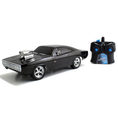 Masina Jada Toys Fast and Furious Dodge Charger 1970 cu telecomanda