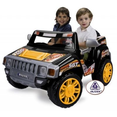 Injusa - Masinuta electrica Safari Pick Up 12V