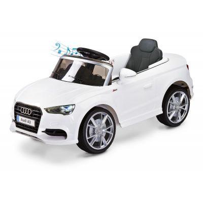Masinuta electrica Toyz Audi A3 2x6V White cu telecomanda