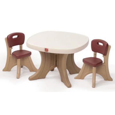 Step2 - Set masuta + 2 scaune pentru copii