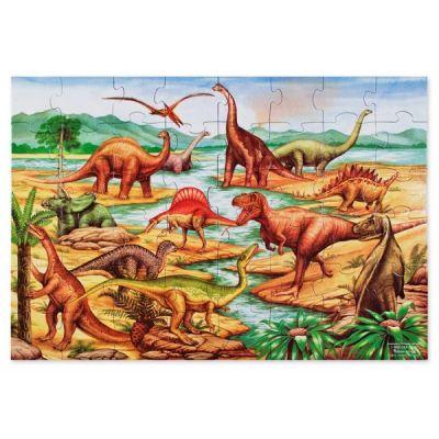 Melissa&Doug - Puzzle de podea cu dinozauri