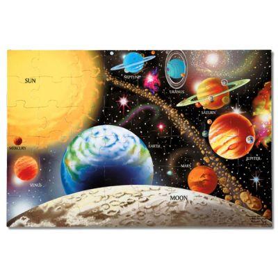 Melissa&Doug - Puzzle de podea Sistemul Solar