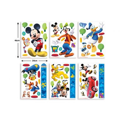 Walltastic - Stickere decorationale Disney Mickey Mouse Clubhouse