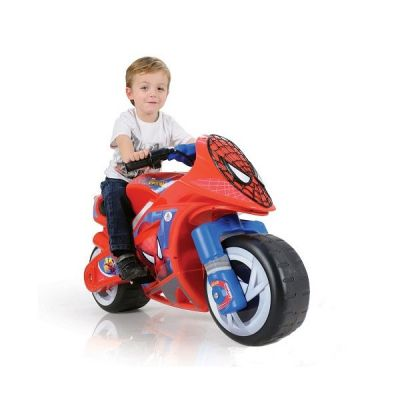 Injusa - Motocicleta Wind Spiderman Sense 6V