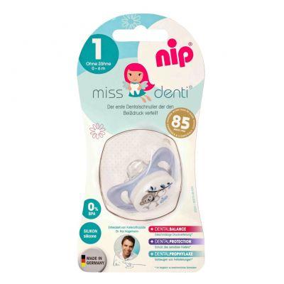 Nip - Suzeta Miss Denti 0-6 luni marimea 1