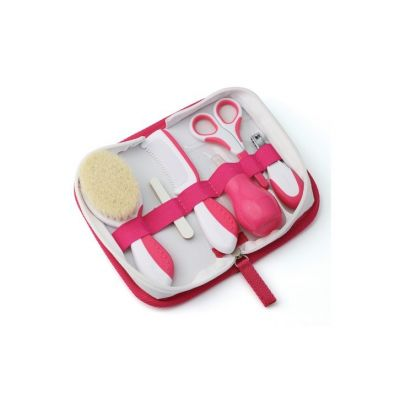 Nuvita set de ingrijire bebelusi roz