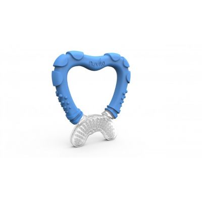 Nuvita Inel gingival cu maner - albastru 7006