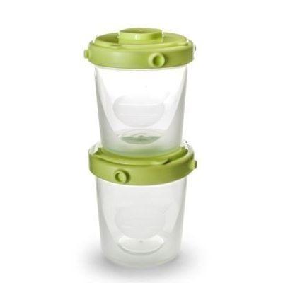 Nuvita Set 4 Recipiente a 200 ml lapte si hrana solida 1466