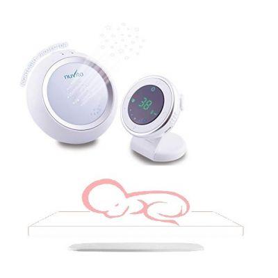 Nuvita - Set interfon cu proiector de noapte Starry si placa wireless cu senzor respiratie