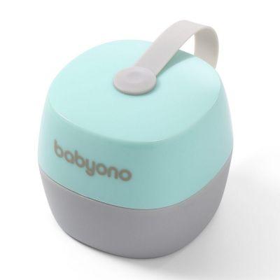 Cutie depozitare pentru 2 suzete Baby Ono turcoaz