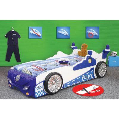 Plastiko - Patut pentru copii Police