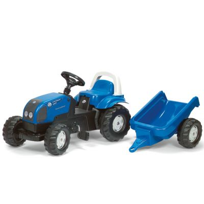 Rolly Toys - Tractor cu pedale si remorca 011841