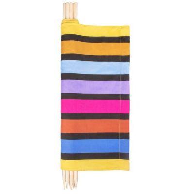 Paravan pentru plaja pliabil 8 m multicolor Springos