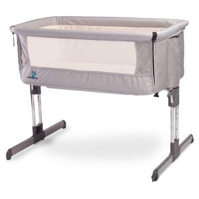 Patut co-sleeper 2 in 1 Sleep2gether Grey