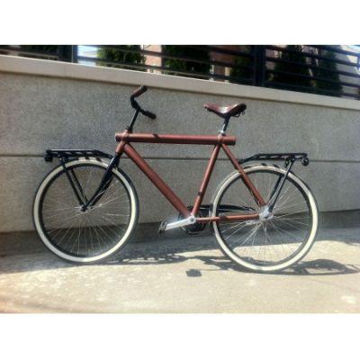 VanMoof - Bicicleta VM3 imbracata in piele