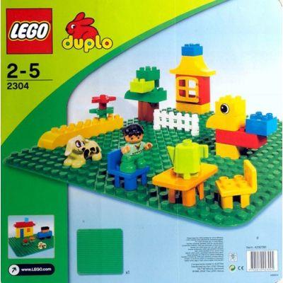 Lego - Duplo placa verde