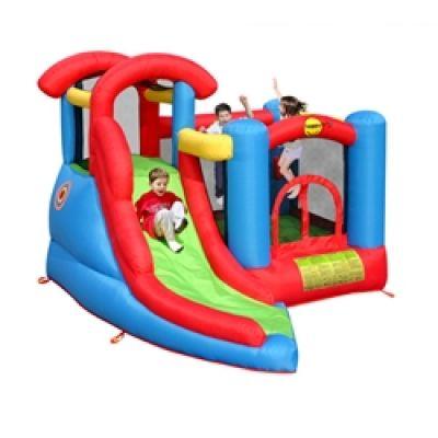 Happy Hop - Saltea gonflabila Play and Slide