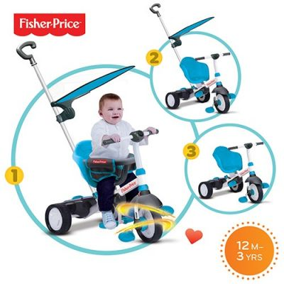 Fisher Price - Tricicleta 3 in 1 Charm Plus