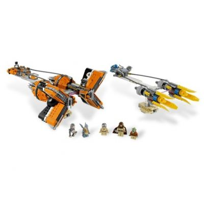Lego - Star Wars Anakin Skywalker and Sebulba's Podracers